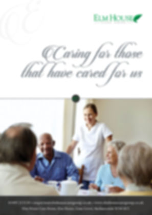 Please feel free to download the Elm House Care Home - Bochure