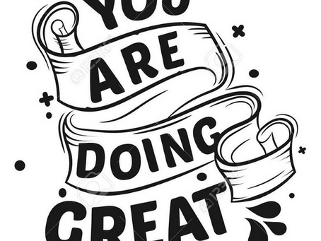 You're Great!!