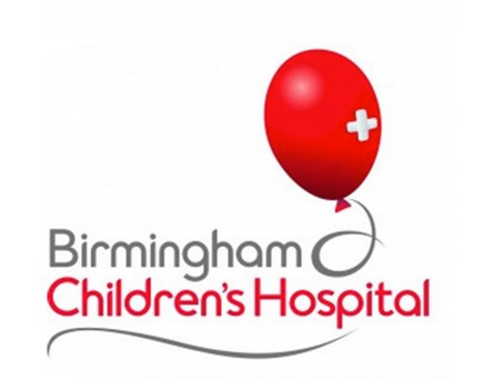 A wonderful letter to us this week from Birmingham Children's Hospital!