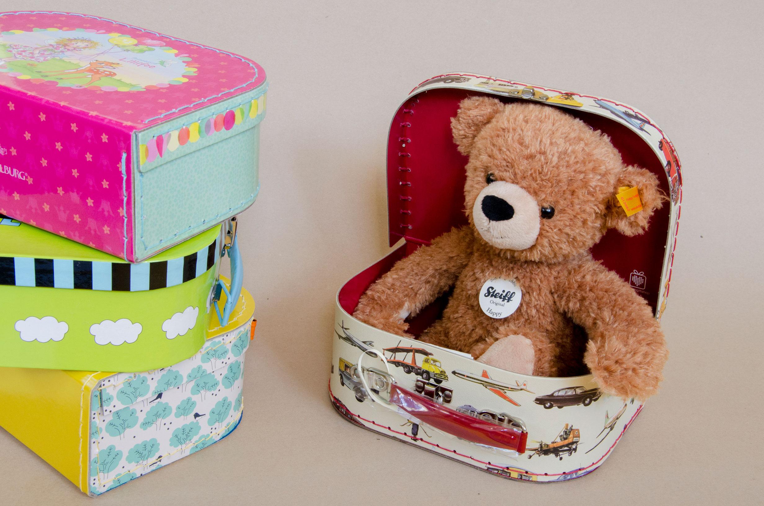 Koffer 24.00 CHF/ Bär 53.80 CHF