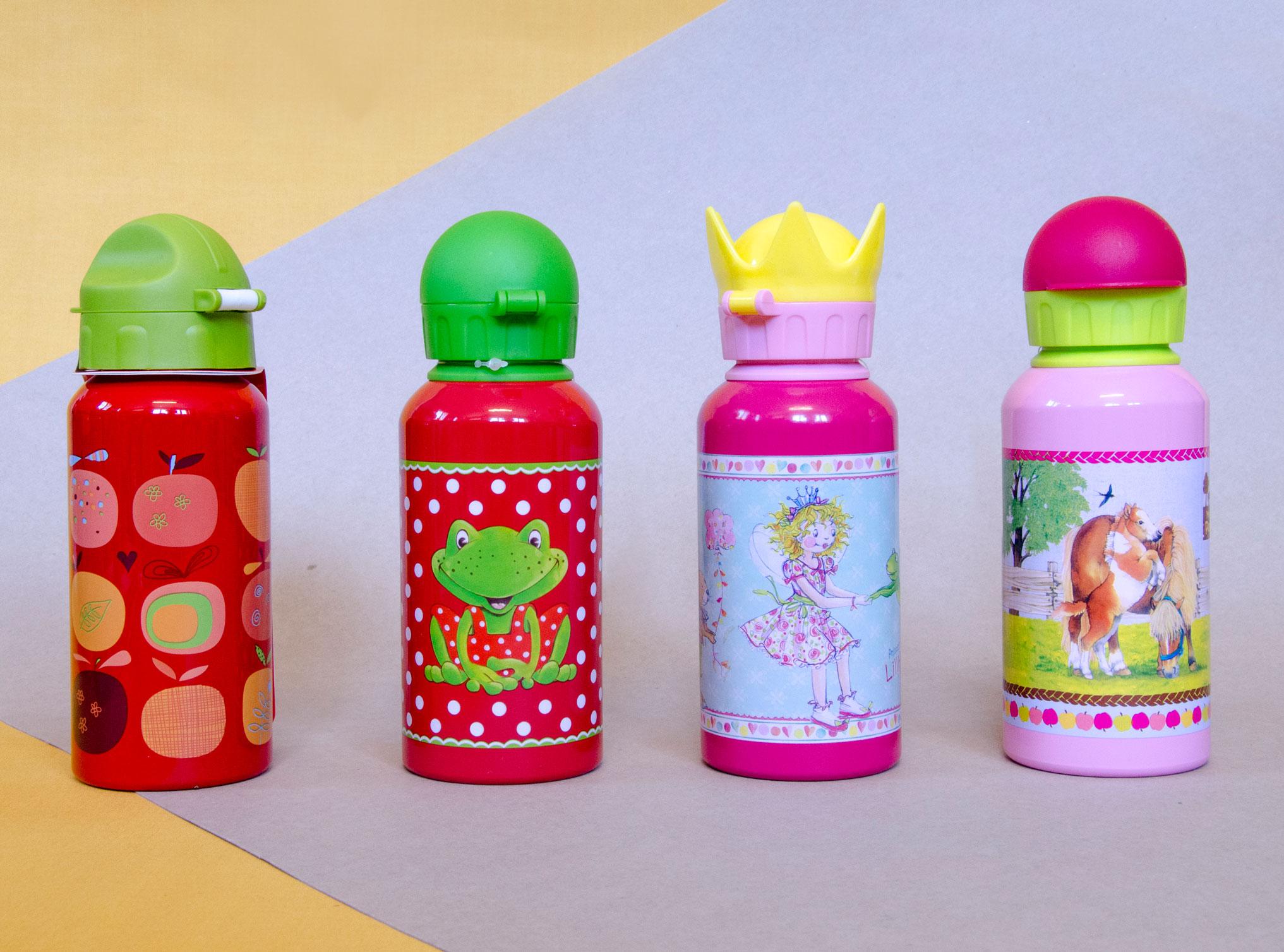 diverse Trinkflasche