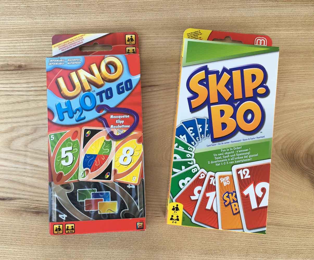 UNO 33.90 / Skipbo 26.90 CHF