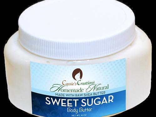 Sweet Sugar Body Butter 16 oz
