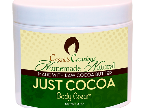 Just Cocoa Body Butter 4 oz