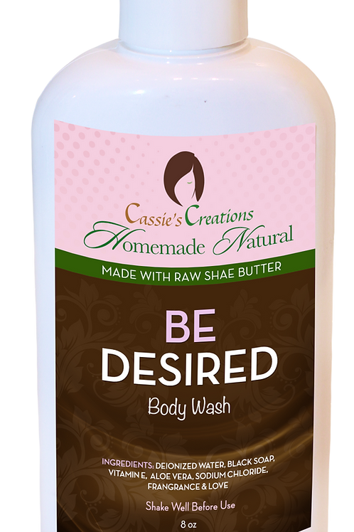 BE DESIRED Body Wash 8oz
