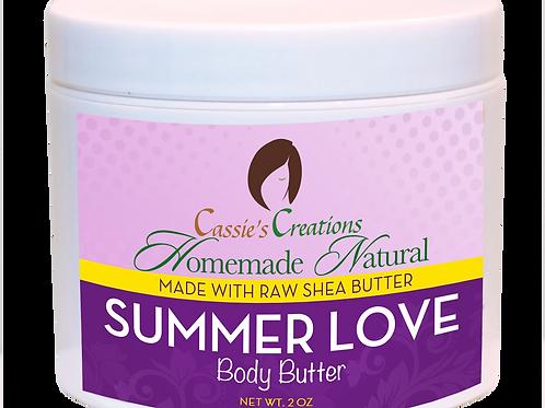 Summer Love Body Butter 4 oz
