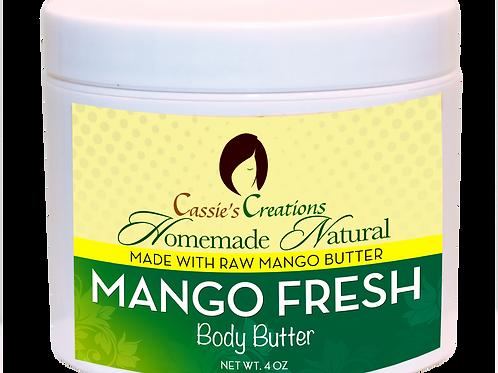 Mango Fresh Body Butter 4 oz