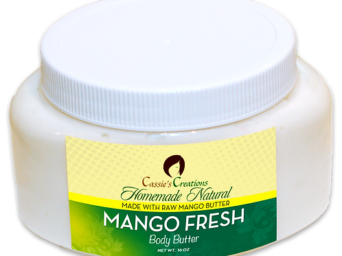 Mango Fresh Body Butter 16 oz
