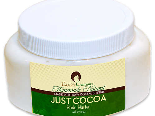 Just Cocoa Body Butter 16 oz