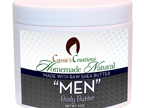 Gentlemen Body Butter 4oz