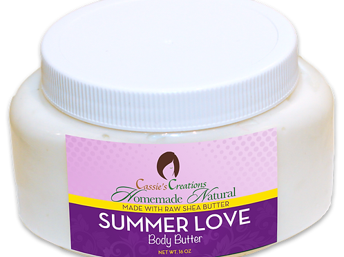 Summer Love Body Butter 16 oz