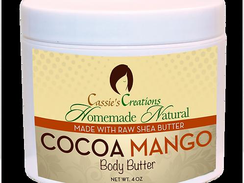 Cocoa Mango Body Butter 4 oz
