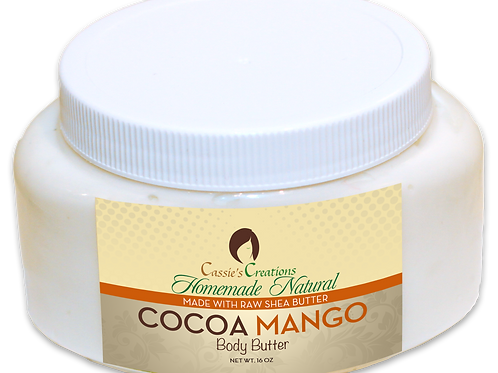 Cocoa Mango Body Butter 16 oz