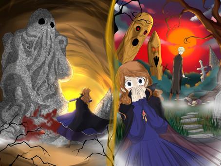 Таящийся среди могил