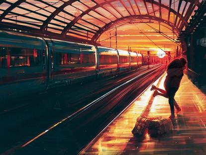 Вокзал – не место для любви