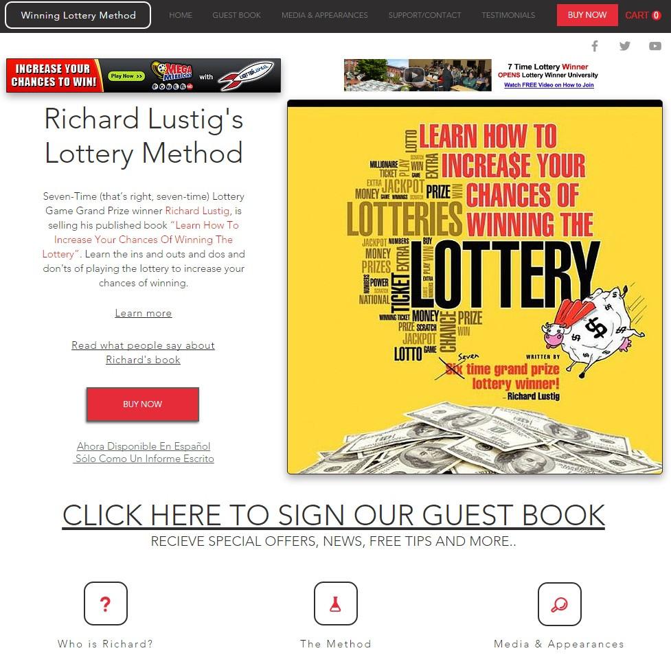 Winning Lottery Method