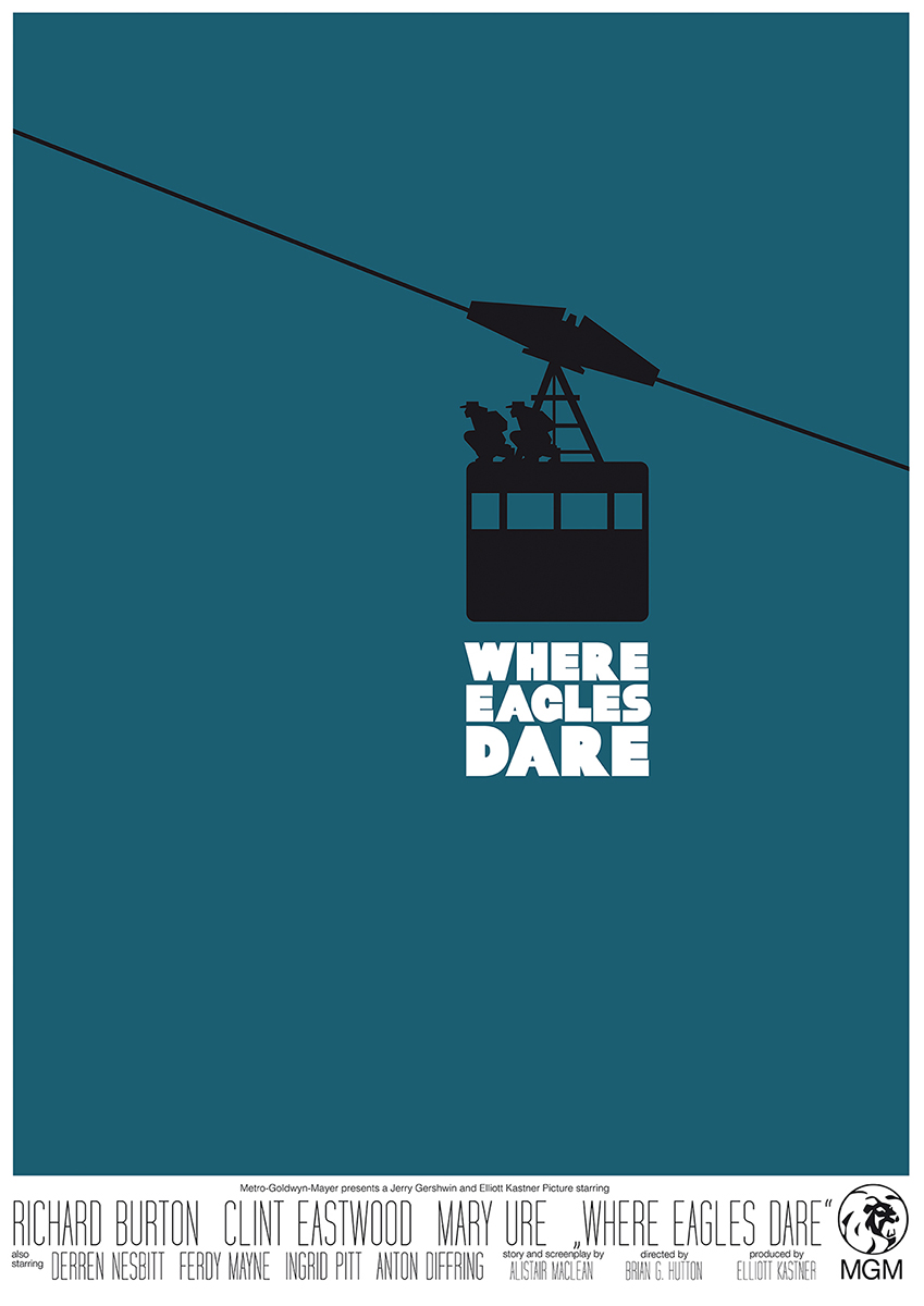 Where Eagles Dare - HomageMoviePoster_01