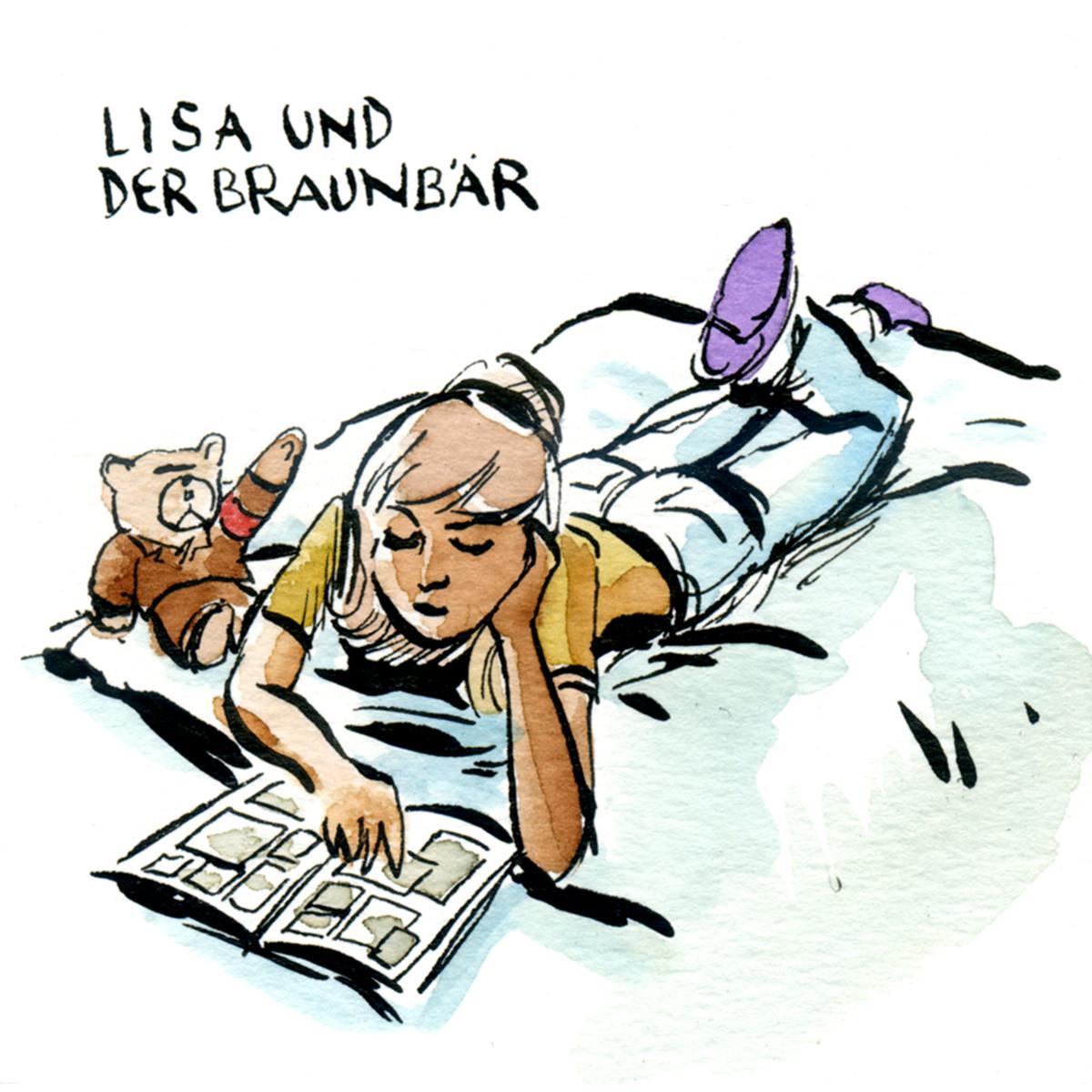 Lisa und der Braunbär