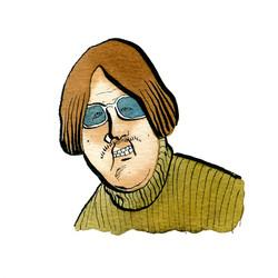 Kobo Durnberg - mit verwegenem Schnurrbart