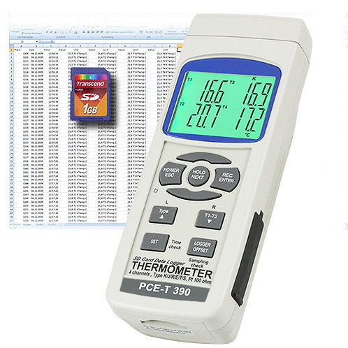 Contact Thermometer T390