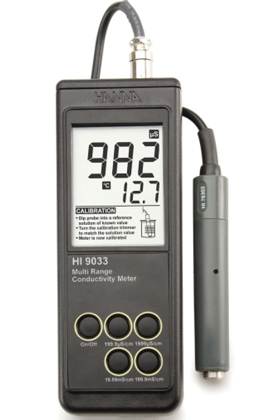 Conductivity Meter HI 9033