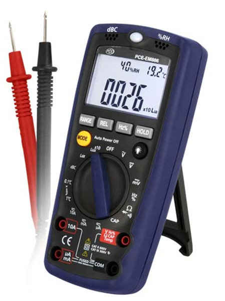 Multifunction Sound Level Meter EM 886