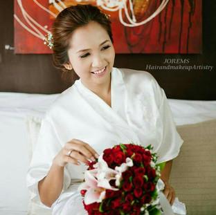 Wedding Hair and Makeup Artist Manila, Tagaytay, Alabang by Jorems