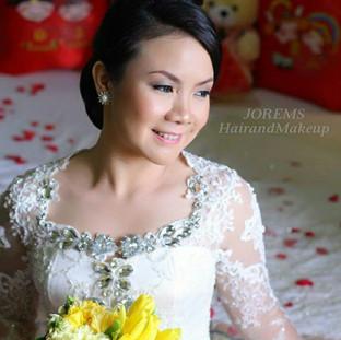 Tagaytay Wedding Hair & Makeup Artist, Manila, Muntinlupa by JOREMS