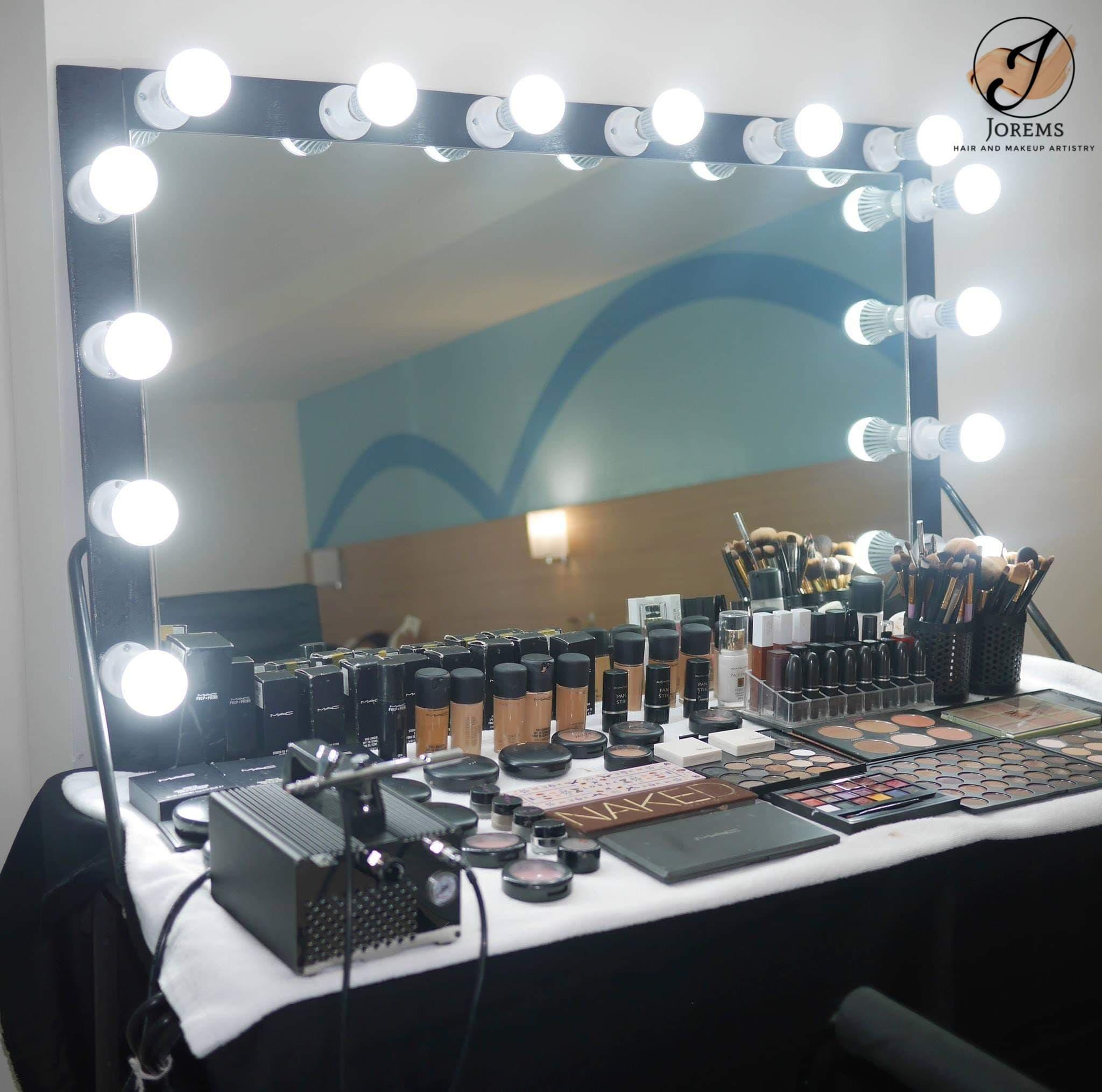 Jorems Hairandmakeup Set up Manila