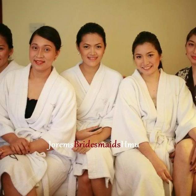 Bridesmaids Hair and Makeup Artist Laguna