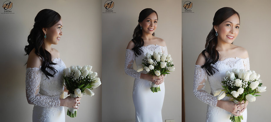 Jorems Wedding Hair and Makeup Manila, Tagaytay, Laguna