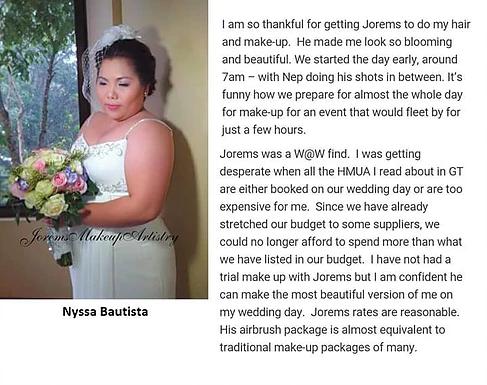 Bridal Makeup Artist Philippines | Wedding Makeup Artist Ph