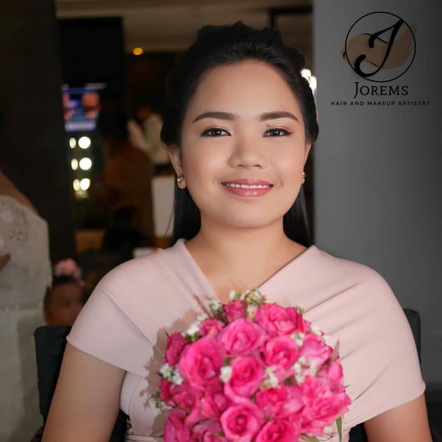 Bridesmaids Hair and Makeup Ph | Professional Makeup Artist | Jorems