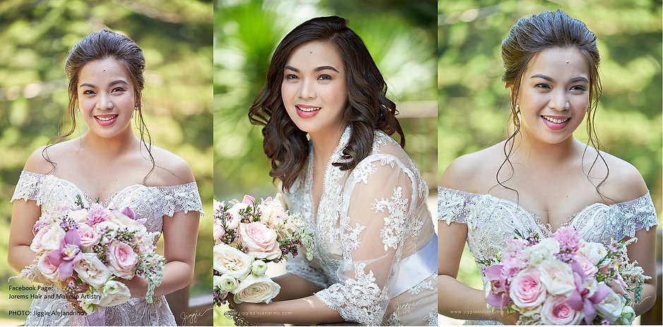 Tagaytay Wedding Hair and Makeup by JORE