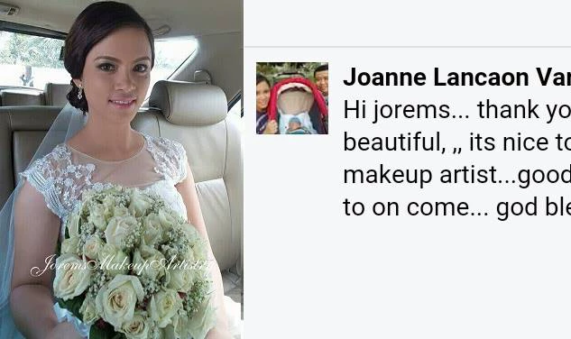 Manila Wedding Makeup Artist | Airbrush Bridal Makeup Ph | Jorems
