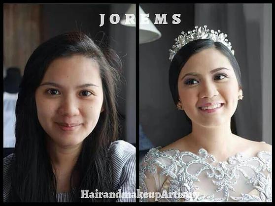 Bridal Makeup Artist Tagaytay   Wedding Makeup Cavite by Jorems 