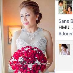 Muntinlupa Wedding Makeup Artist | Bridal Makeup | Jorems