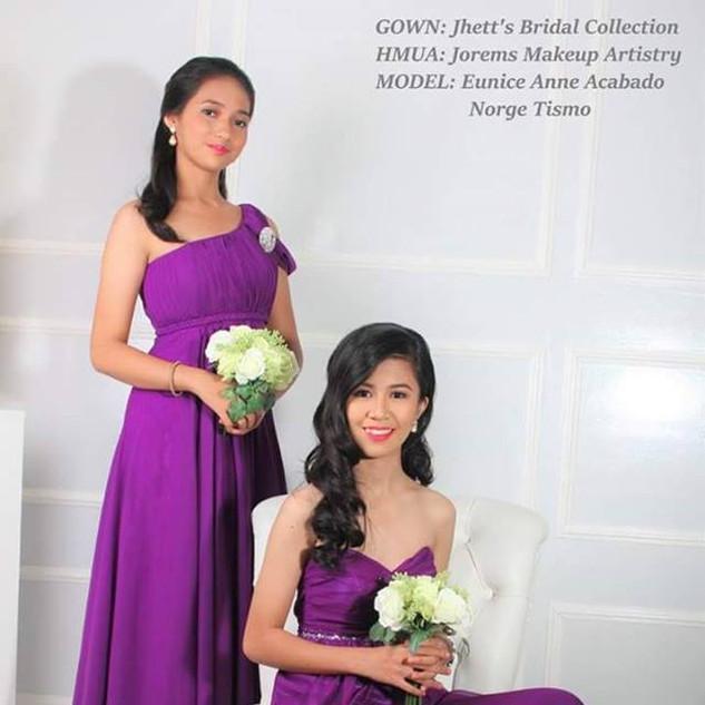 Bridesmaids Hair and Makeup | Jorems Makeup | Makeup Artist Manila