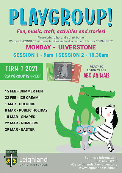 Playgroup Term Flyer 2021 TERM ULVERSTON