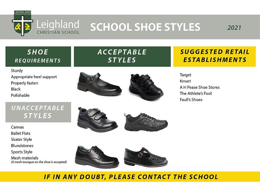 SHOES Uniform Explanation Handouts 2021.