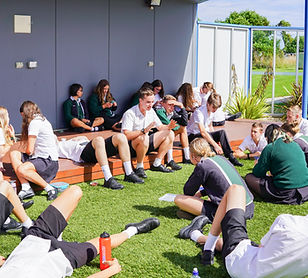 Year 11 and 12 Common Area Leighland Christian School