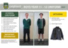 Uniform Explanation Handouts YEAR 1112 B