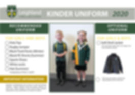 Uniform Explanation Handouts 2020 KINDER