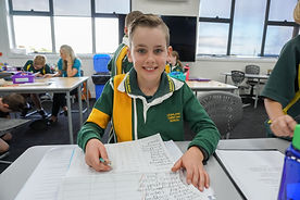 Happy Leighland Christian School  Student