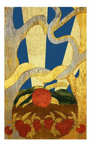 Apple-The Lovers: 5x7 Print
