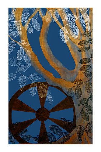 Hornbeam-The Chariot: 16x20 Print