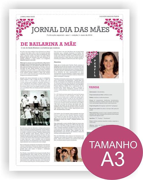 JORNAL PARA PAI/MÃE/IRMÃOS