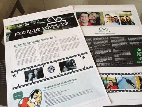 JORNAL DE ANIVERSÁRIO