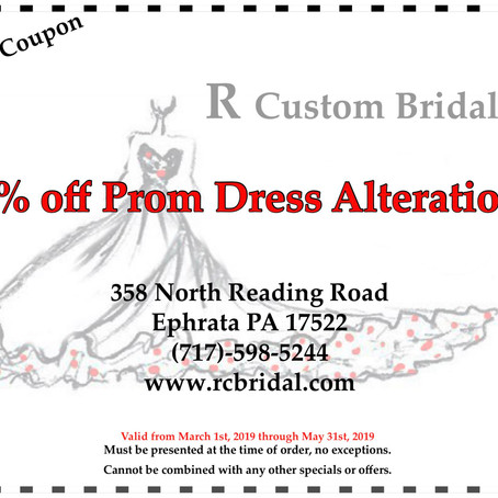 PROM DISCOUNT