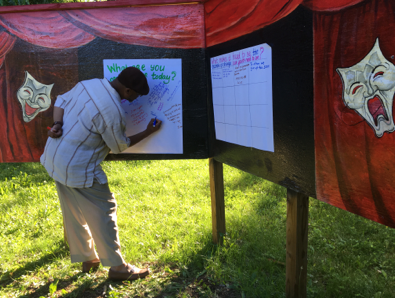 Engaging community residents in the design process to support neighborhood revitalization